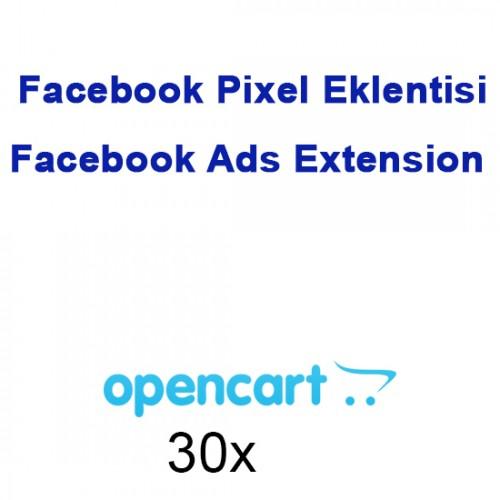 Opencart Facebook Pixel Eklentisi Facebook Ads Extension Modülü