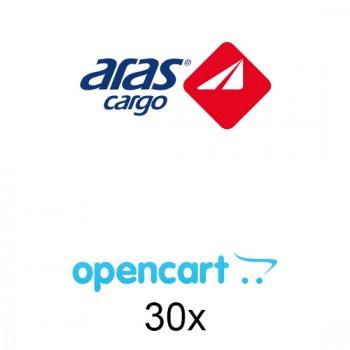 Opencart Aras Kargo Entegrasyonu 30x