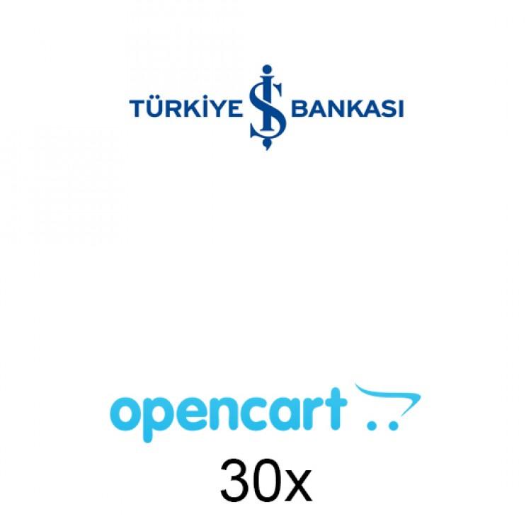 Opencart İş Bankası Sanal Pos 30x