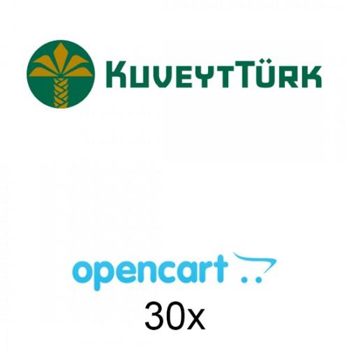 Opencart Kuveyttürk Sanal Pos 30x