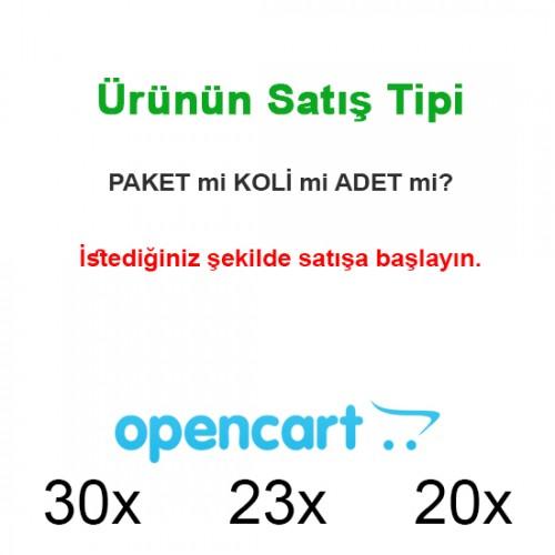 Opencart Ürün Satış Tipi Belirleme (paket,koli,palet sipariş yöntemi)