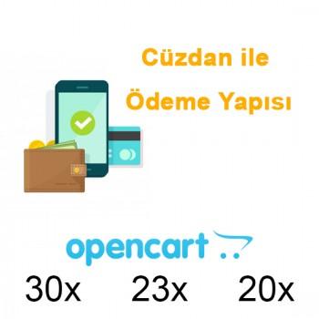Cüzdan + Kartla ödeme sistemi