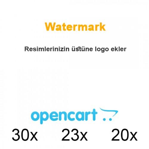Opencart Watermark Uygulaması / Filigran