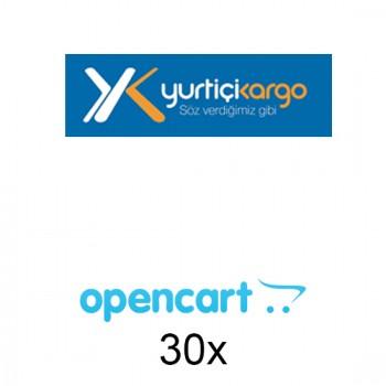 Opencart Yurtiçi Kargo Entegrasyonu