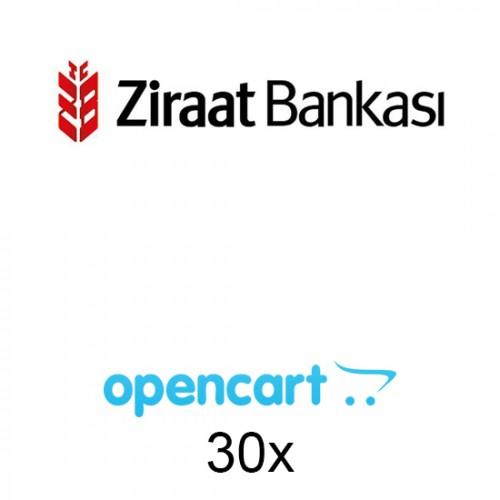 Opencart Ziraat Bankası Sanal Pos 30x